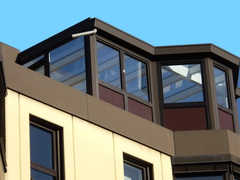 wintergarten terrassendach. Black Bedroom Furniture Sets. Home Design Ideas